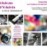 Flyer Visions d'Objets
