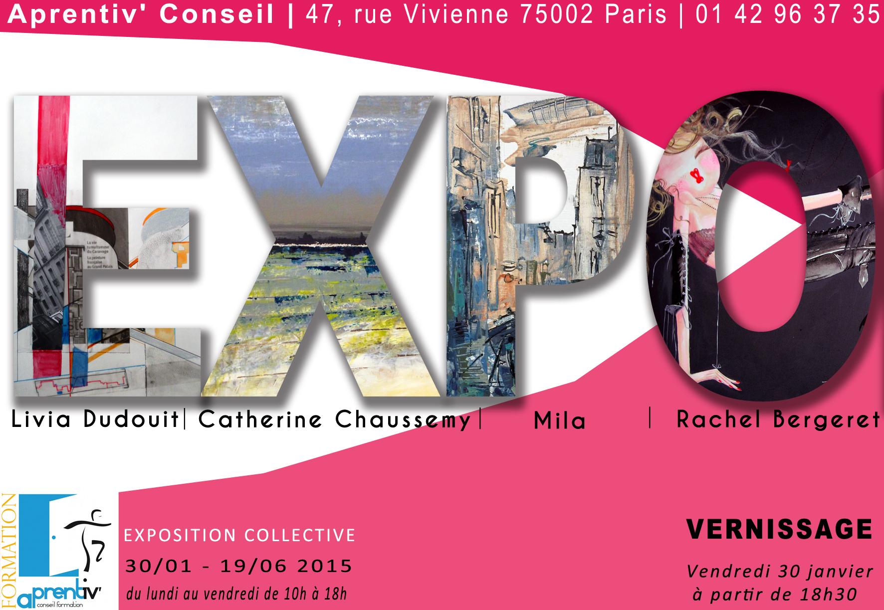Exposition Collective Centre Aprentiv 2015 Livia Dudouit