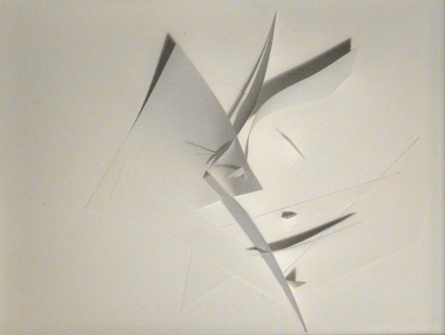Sculptures en Papiers Découpés