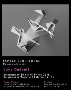 Flyer Espace Sculptural