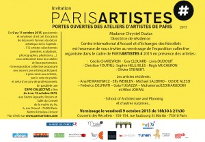 Vernissage Paris Artistes 2015